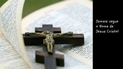 (Bíblia King James Comentada): Muitos Serão perseguidos, mas não nego o Nome de J...