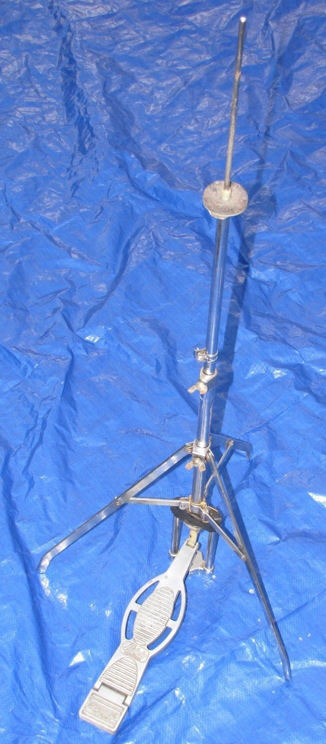Ludwig Spurlock Hi Hat Cymbal Drum Pedal Stand Vintage A | eBay