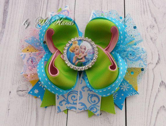 Tinkerbell Pixie pelo arco Tinker Bell y bígaro por SilkHands