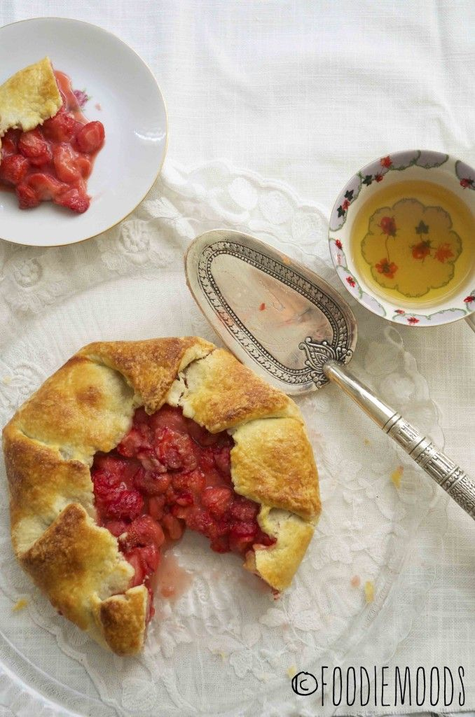 strawberry galette! For all you kitchen novices. Blog translates in any language!