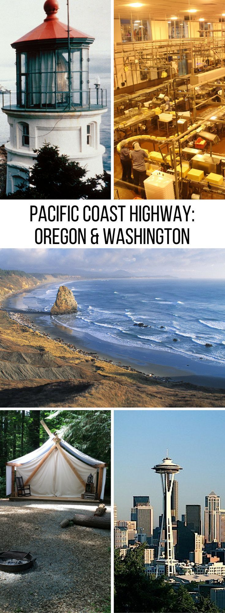 Pacific Coast Highway Oregon Washington 243