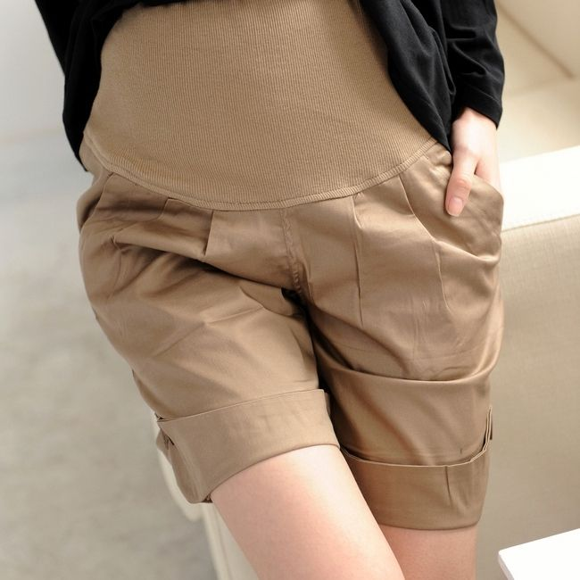 Hot Sale Summer Maternity Shorts Casual Loose Prop Belly Shorts for Pregnant Women High Waist Pregnancy Shorts Asia Size M-2XL
