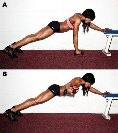 Arms, core, back, and legs...get it done