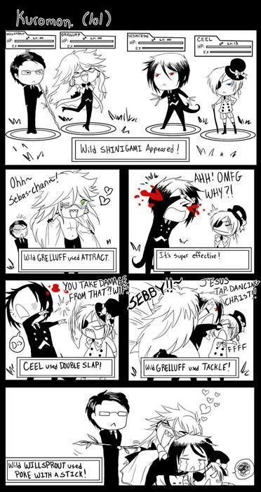 black butler funny comics