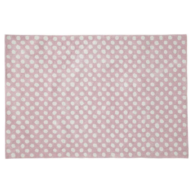 Teppich DOLLY gepunktet, 120 x 180cm, rosa