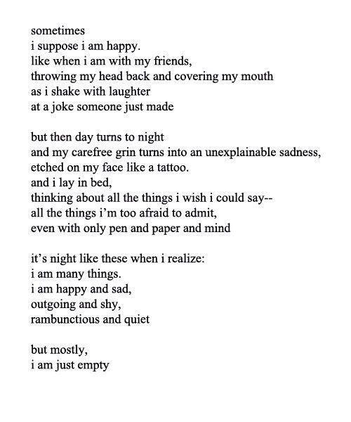 Feeling a little depressed lately