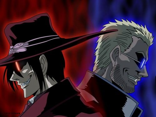 Alucard vs. father Alexander Anderson | Dye It Crimson ...