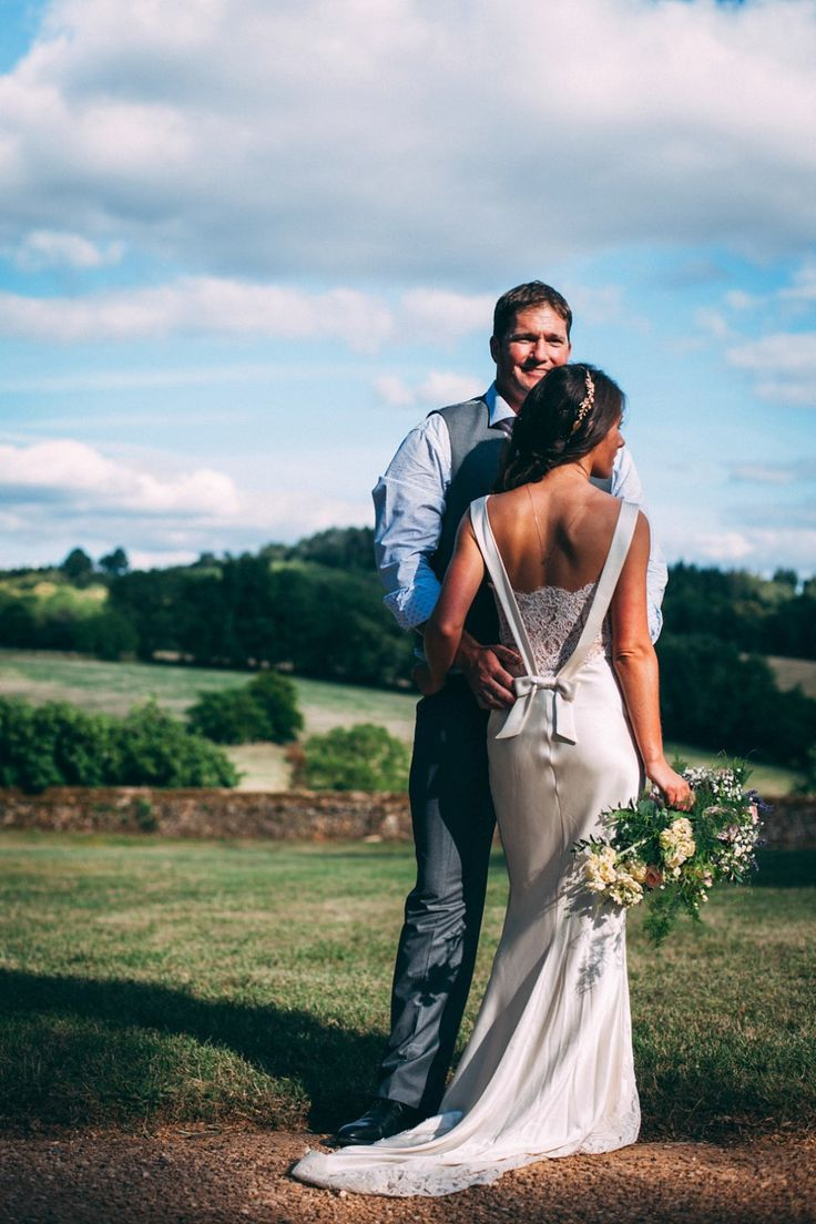A David Fielden Gown for a Chateau wedding in the Dordogne   Love My Dress® UK Wedding Blog