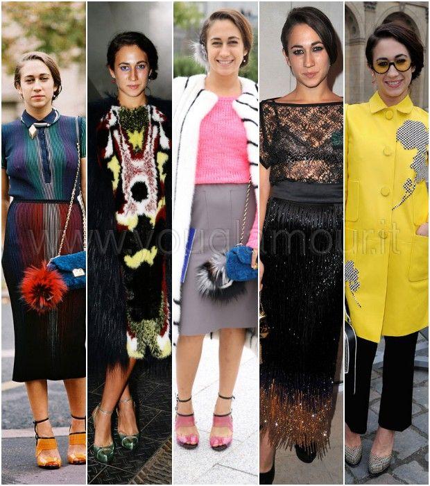 Lo stile eccentrico e colorato di Delfina Delettrez Fendi