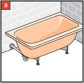 Montage3 Badewanne   ganz einfach selber einbauen