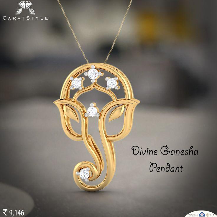 May the lords blessings make good luck shine on you always. #ganesha #pendant #ganeshapendant #ganpatipendant
