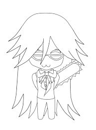 black butler chibi coloring pages google search - Black Butler Chibi Coloring Pages