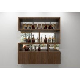 Wall Mount This Bar Cabinet Offering Capacious Storage E Made Up Of Plywood With Laminate