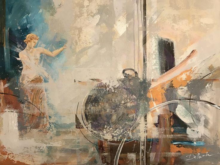 Aria Dellcorta- Ancient Memories - Mixed Media Contact: www.ariadellcorta.com- Current Online Art Exhibition - International Gallery Of The Arts (IGOA)
