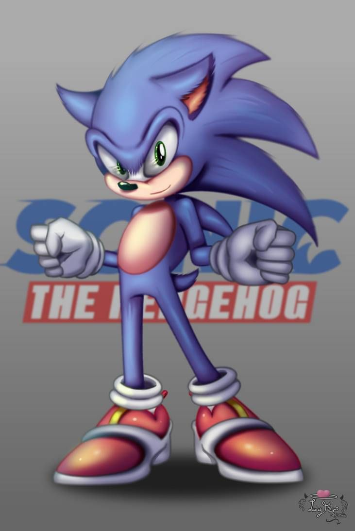Sonic Movie Design By Sonamy94fan On Deviantart In 2020 Sonic Sonic The Hedgehog Movies