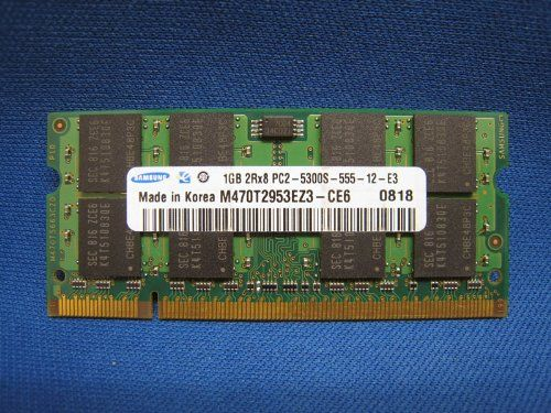 Buy Samsung 2GB Kit (2 X 1GB) PC2-5300S Laptop RAM 667 Mhz DDR2 Memory NEW for 69.58 USD | Reusell