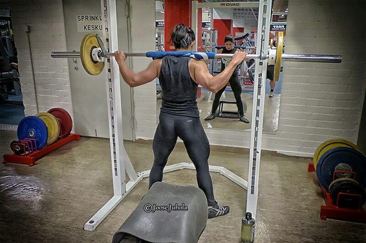Leg training day