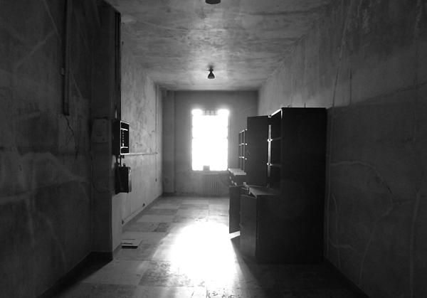 A room in the hospital ward at Alcatraz Island. Want this picture printed on canvas or cards etc? Click on the image :)