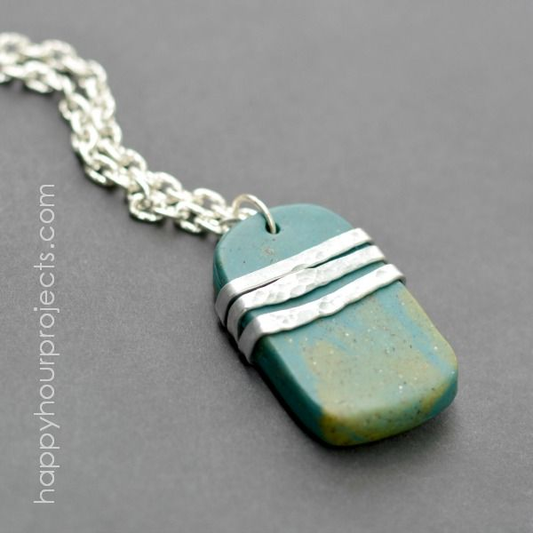 Diy clay pendants crafthubs 1516 best images about free diy jewelry tutorials on mozeypictures Image collections