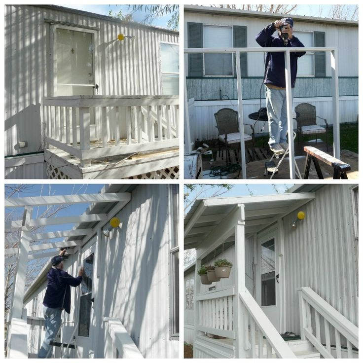 My Heart's Song: Mobile Home Exterior - Before/After