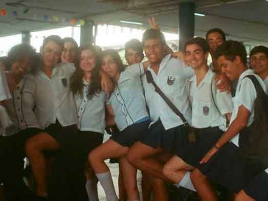 When a trans student was fined by her Rio de Janeiro high school for wearing a skirt, her classmates hatched a plan -- the boys wore skirts to class in protest, and the school relented.