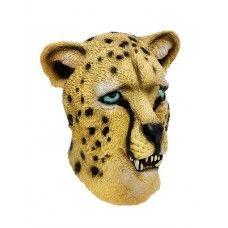 Animal Latex Masks : Animal Mask - Leopard ( Latex )