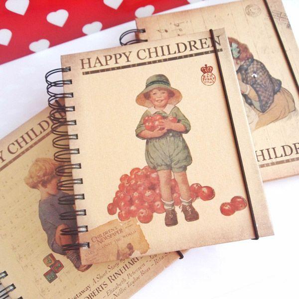 Happy Children Spiralli Defter-2