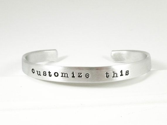 Customize This Cuff bracelet custom made to order by JewelRango