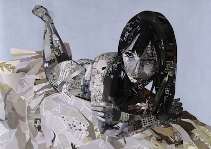 Patrick Bremer - Brighton, UK Artist - Collage Artists - Painters - Artistaday.com So clever