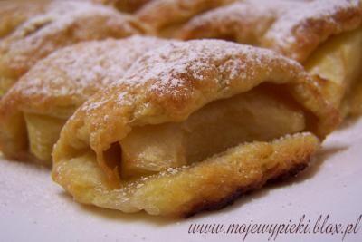 Serowe ciasteczka z jab?kiem