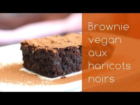 Brownie au chocolat et haricots noirs (vegan, sans gluten) Recette en vidéo | Envie D'une Recette végétalienne?