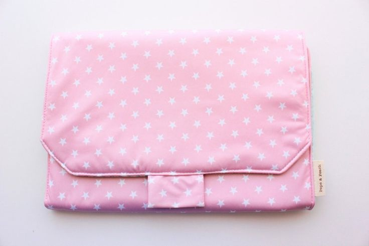 Diaper bag, nappy bag, changing pad, change mat, baby bag, Pink, ideal for baby girls