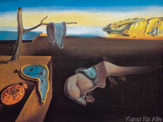 Salvador Dalí - The Persistence of Memory, 1931