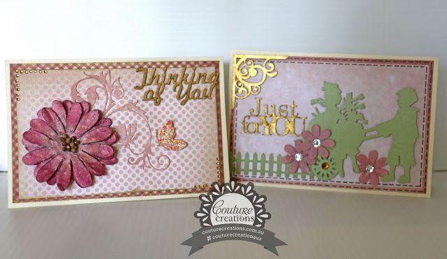 Couture Creations: Secret Garden Cards by Julianne McKenna-De Lumen