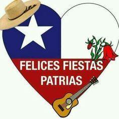 Resultado de imagen para símbolos   de fiestas patrias chilenaspara colorear