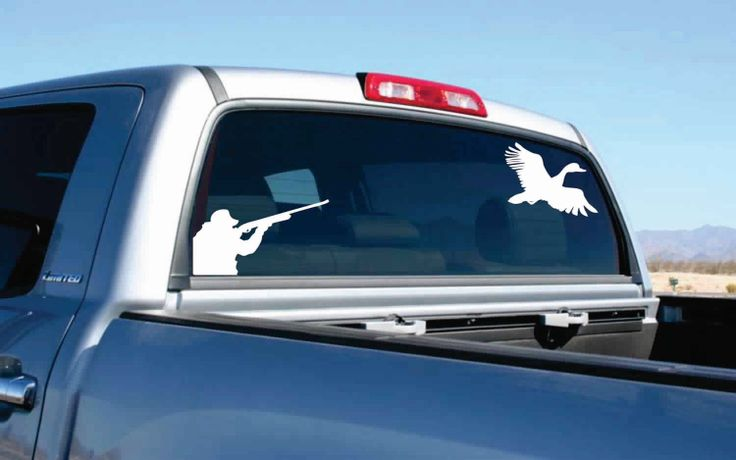 Duck Hunting Decal Truck Accessories Pinterest