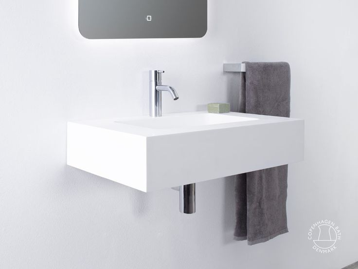 """Furesø 60"" wash basin from Copenhagen Bath."