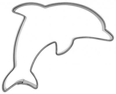 pepparkaksform liten delfin
