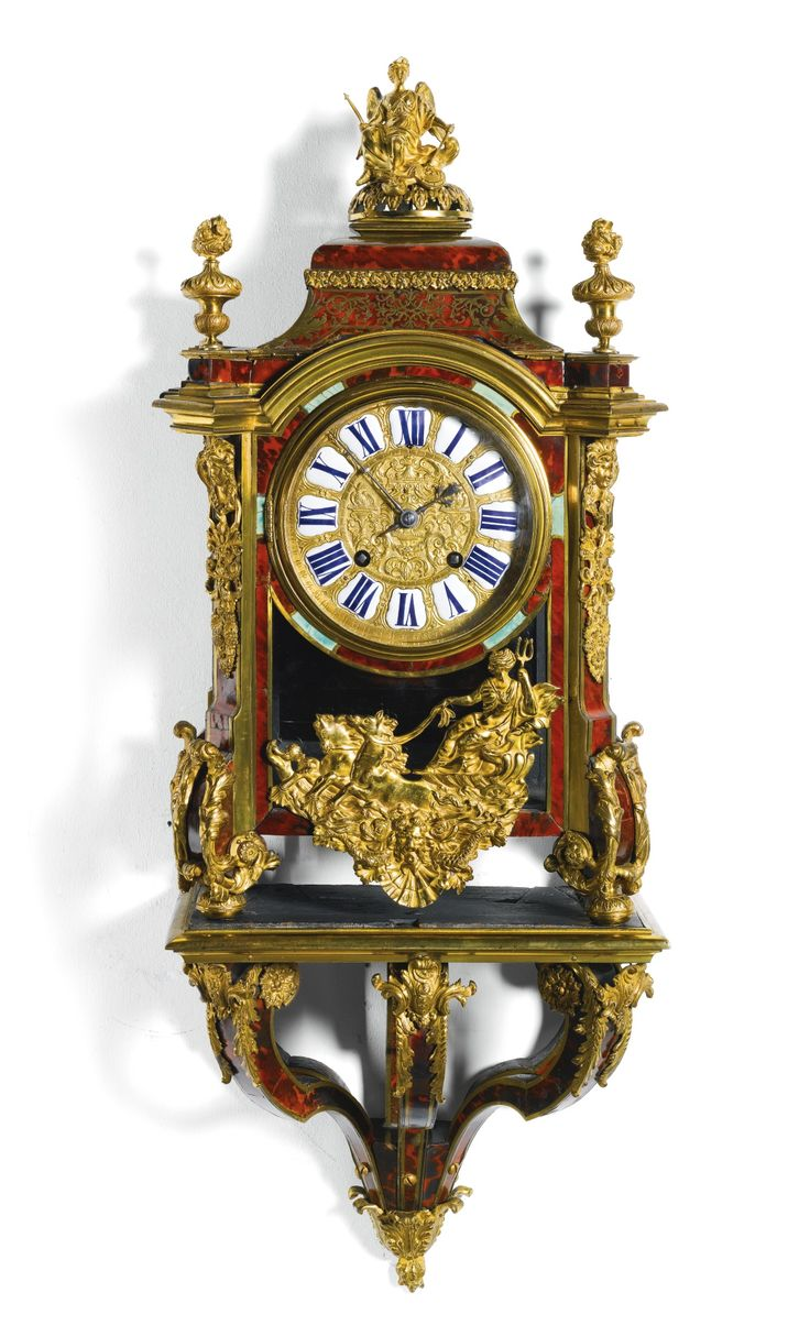 A Régence turtleshell boulle bracket clock, Etienne Cormasson, Paris, circa 1720 | Lot | Sotheby's
