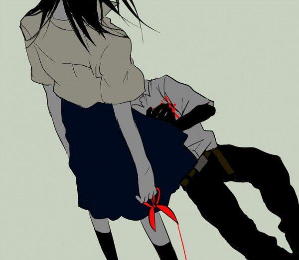 Insane anime couple dark bloody crazy pain gore - Dark anime couples ...