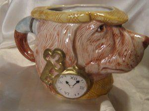 Fitz Floyd 1994 Sherlock Hound Detective Cup Mug Planter @ mugshoppe.ecrater.com
