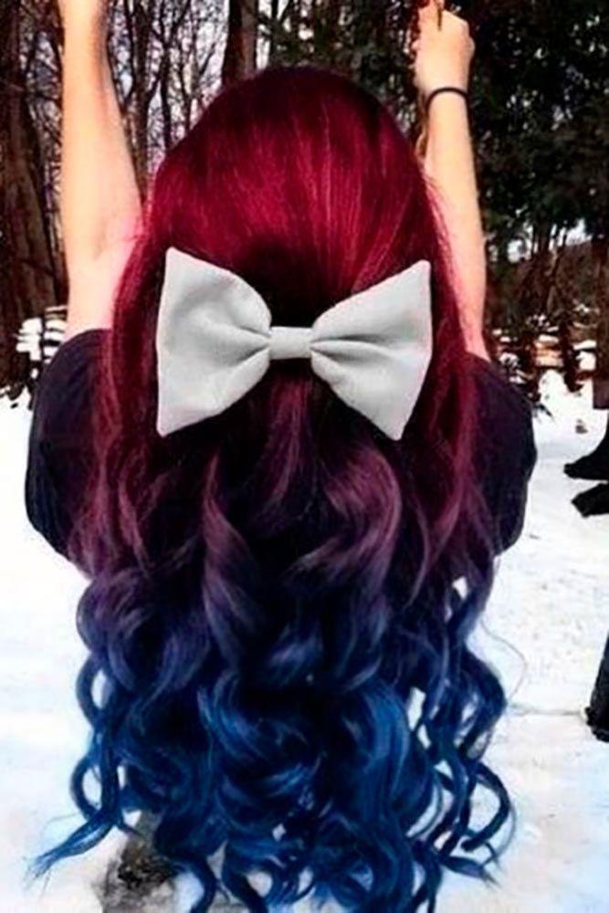50 Fabulous Rainbow Hair Color Ideas – Hairdos