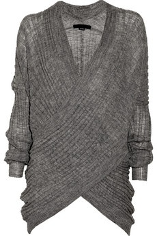 I want this Alexander Wang sweater, and I want to wear it every single day. Love it.