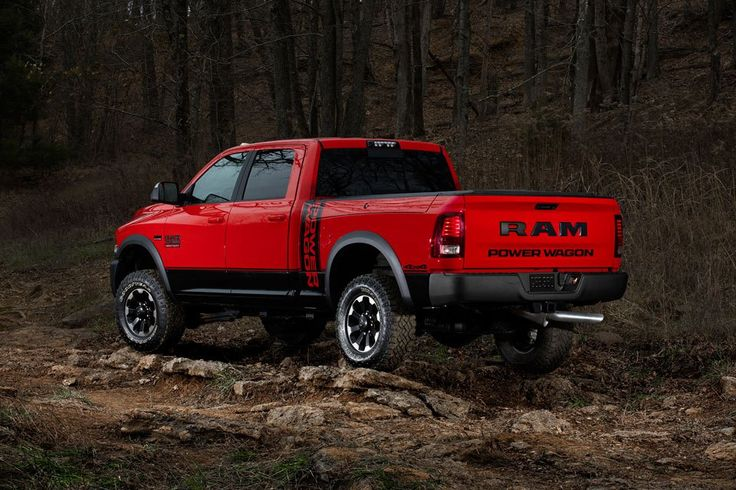 Dodge unveils one of its most powerful new Heavy Duty trucks, the 2017 Ram Power Wagon.