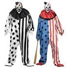Cool Great Evil Clown Costume Adult Scary Halloween Fancy Dress 2017-2018