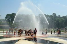 St. Joesph, MI Splash Pad at Silver Beach