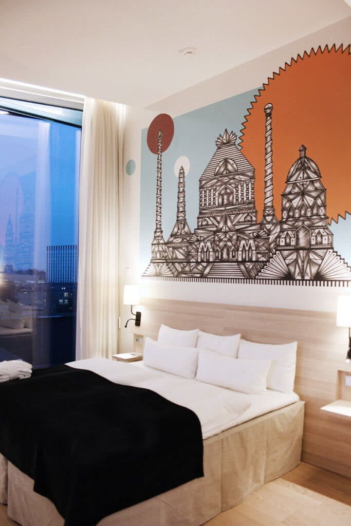Die Neuen Art Rooms Im Scandic Hamburg Emporio Design Hotels