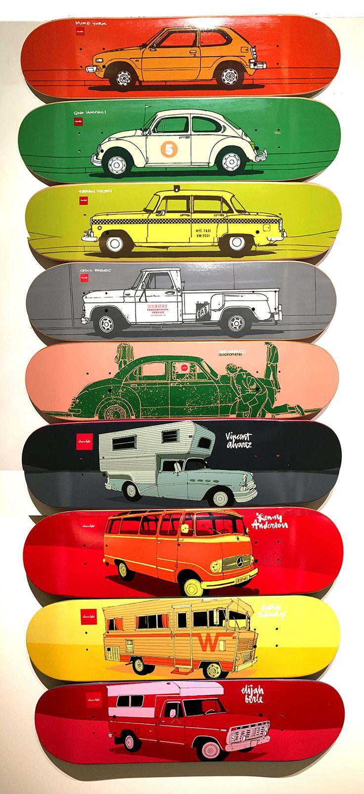 Chocolate Skateboards Car Decks #evanhecox