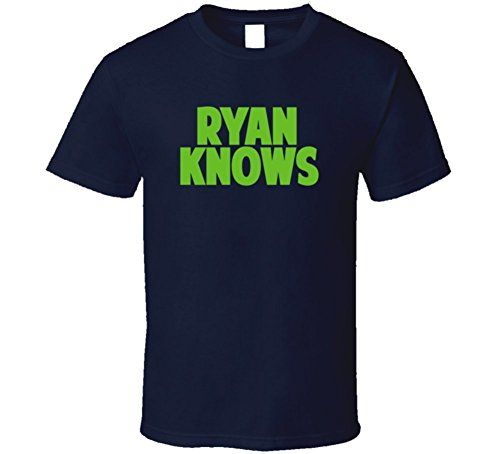 Jon Ryan Knows Seattle Football Player Sports Fan T Shirt http://buttermintboutique.com/jon-ryan/