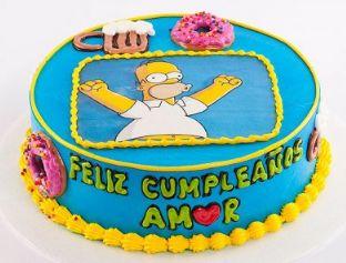 Torta Homero Simpson